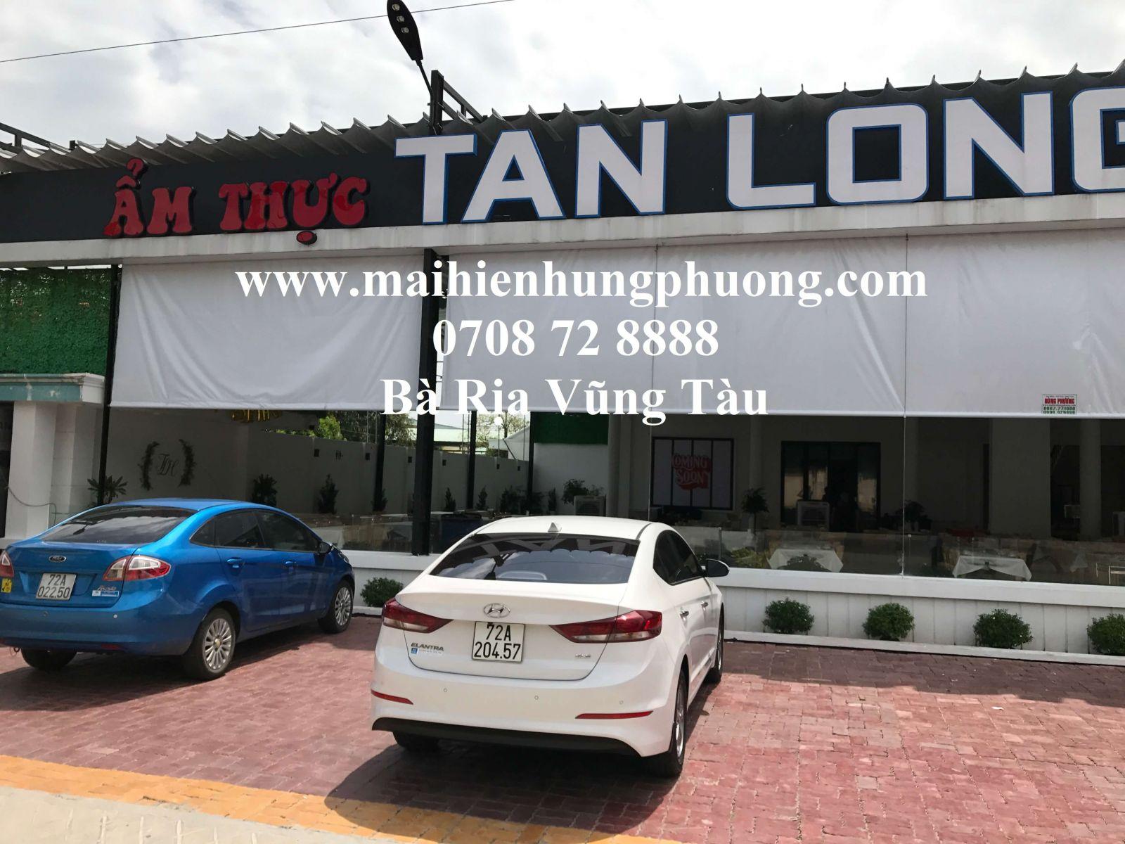 mái hiên quán café Bà Rịa Vũng Tàu