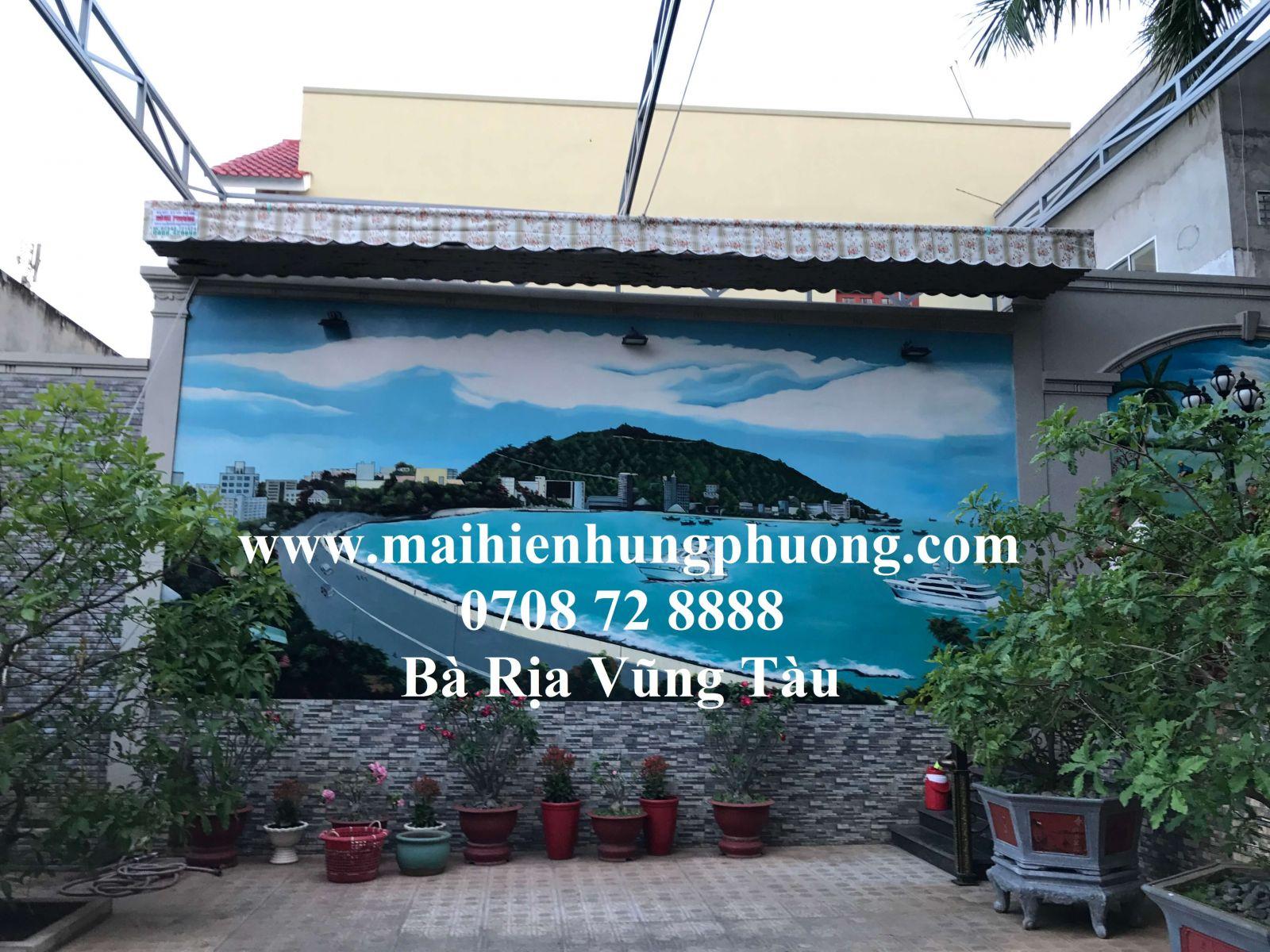 Mái kéo quán café tại Bà Rịa Vũng Tàu