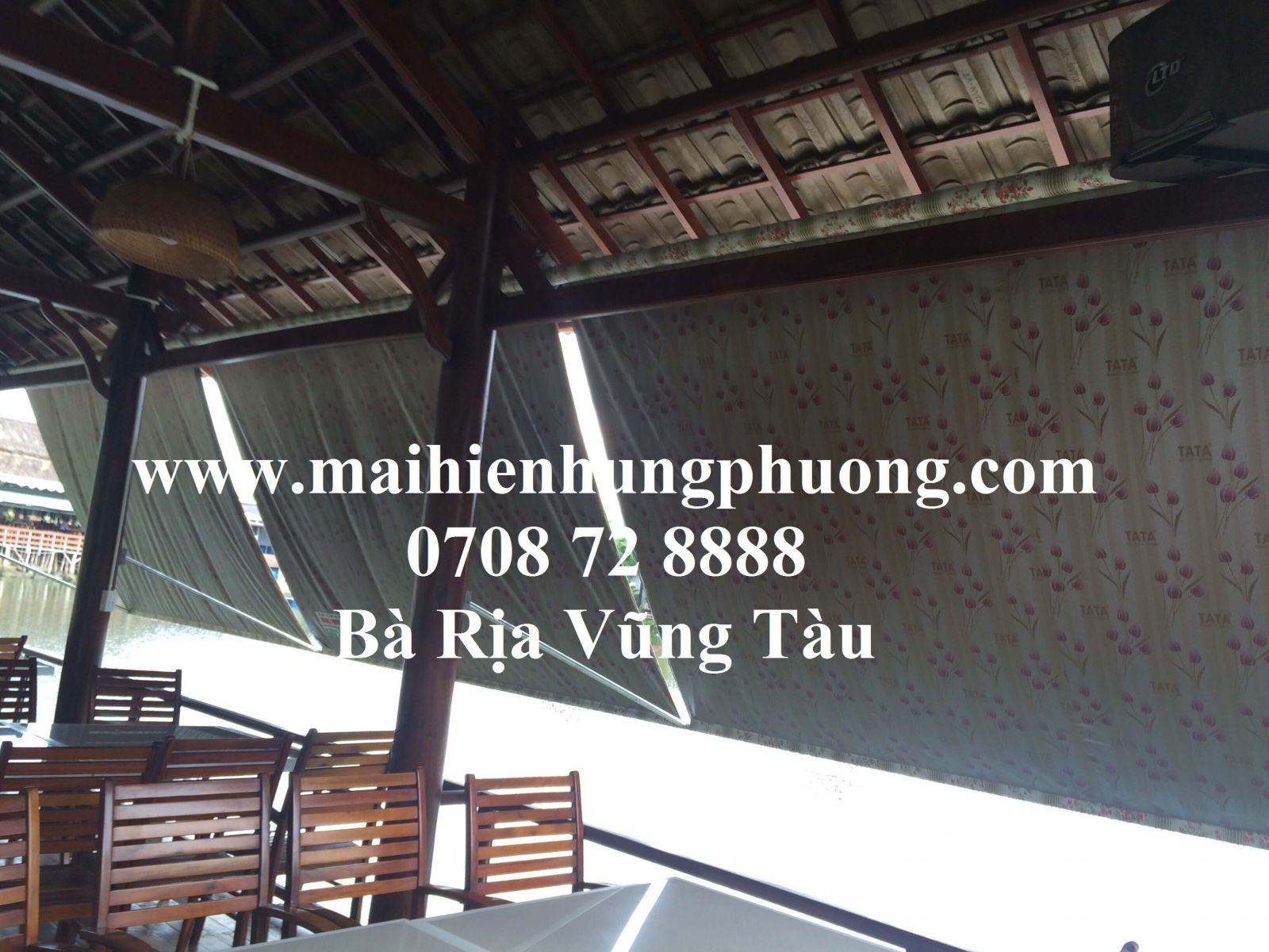 mái xếp bạt kéo tại Bà Rịa Vũng Tàu